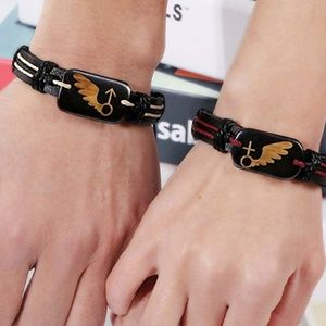 Jewelry - Bracelets for couples in Leather